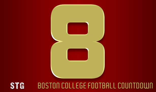BC Football: 8 Days to Go
