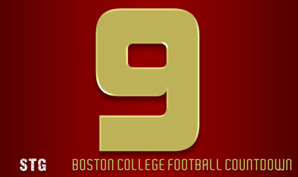 BC Football: 9 Days to Go