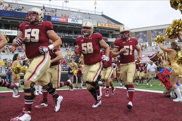 NCAA Football: Villanova at Boston College