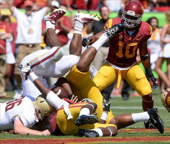 NCAA Football: Boston College at Southern California