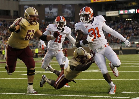 NCAA Football: Clemson at Boston College