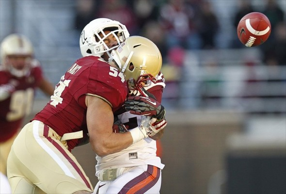 NCAA Football: Virginia Tech at Boston College