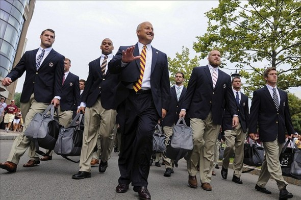 NCAA Football: Villanova at Boston College, Steve Addazio