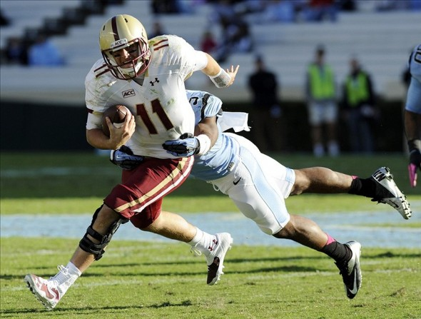 NCAA Football: Boston College at North Carolina