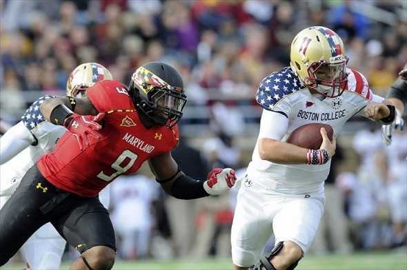 NCAA Football: Maryland at Boston College