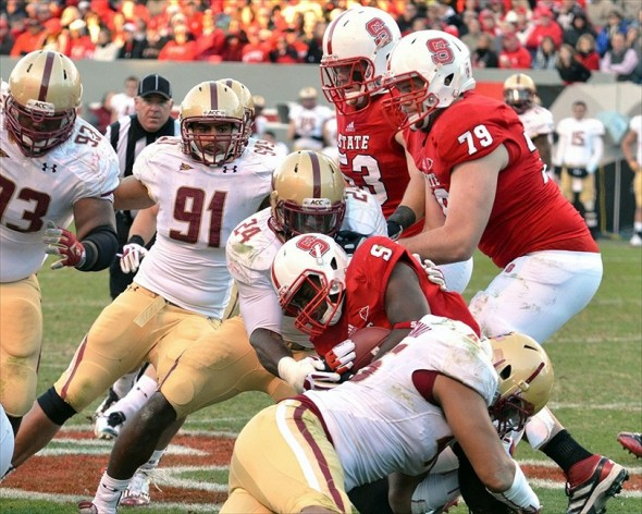NCAA Football: Boston College at North Carolina State