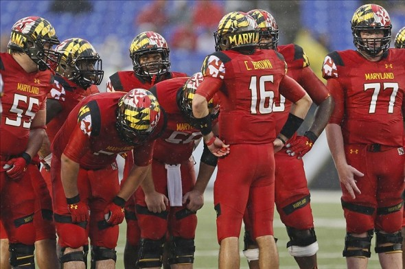 NCAA Football: West Virginia at Maryland