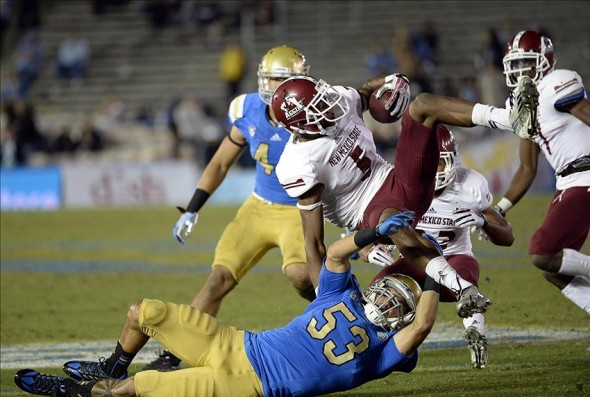 NCAA Football: New Mexico State at UCLA