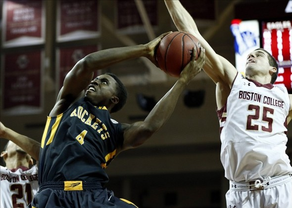 NCAA Basketball: Toledo at Boston College