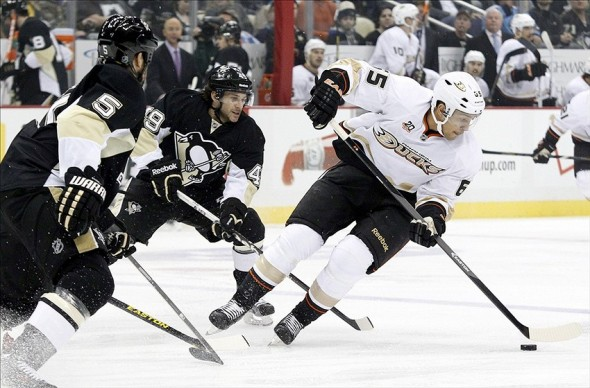 NHL: Anaheim Ducks at Pittsburgh Penguins