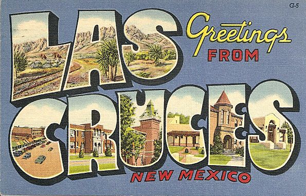 Las Cruces postcard