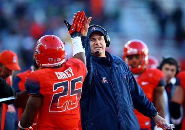 NCAA Football: Oregon at Arizona