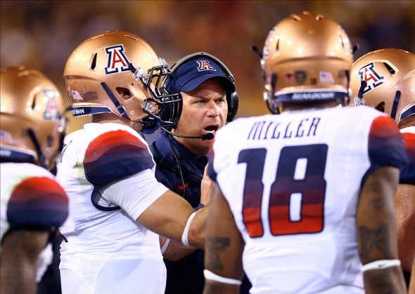 NCAA Football: Arizona at Arizona State