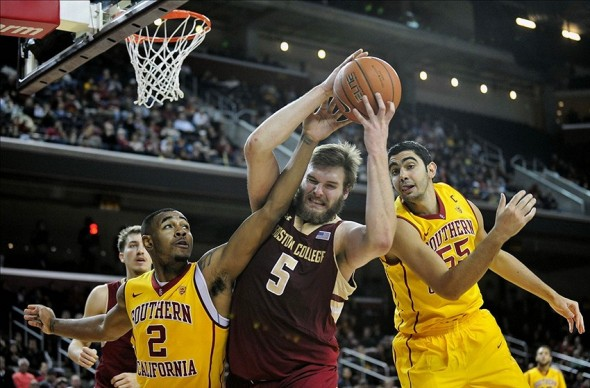 NCAA Basketball: Boston College at Southern California