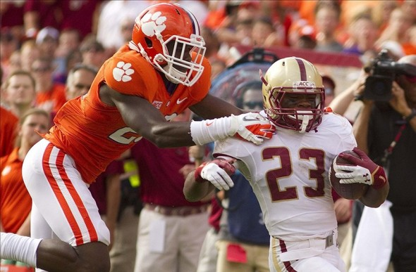 NCAA Football: Boston College at Clemson