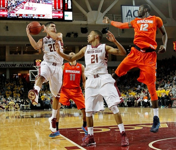 NCAA Basketball: Syracuse at Boston College
