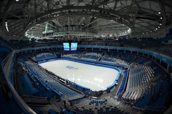 Olympics: Feature-Iceberg Skating Palace