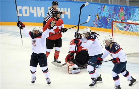 Olympics: Ice Hockey-Women
