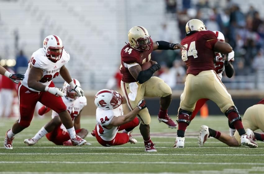 Boston College Football 2014: Sherman Alston, RB - Soaring ...