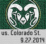 Colorado State Game 9.27.14