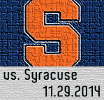 Syracuse Game 11.29.14
