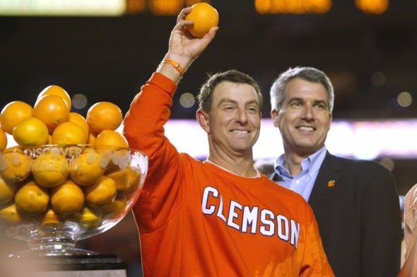 NCAA Football: Orange Bowl-Ohio State vs Clemson - ACC Summer Football Check-in