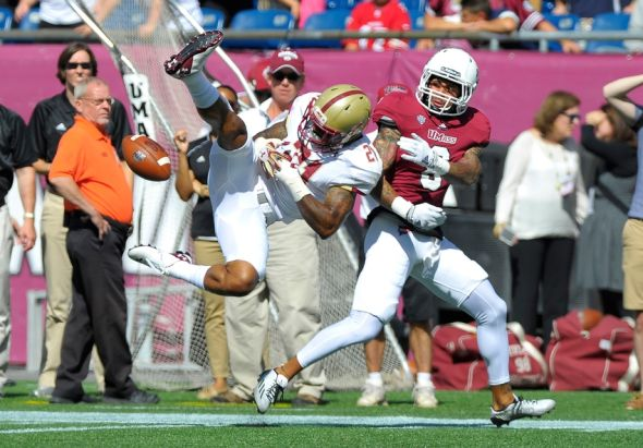 Boston College at UMass In Pictures