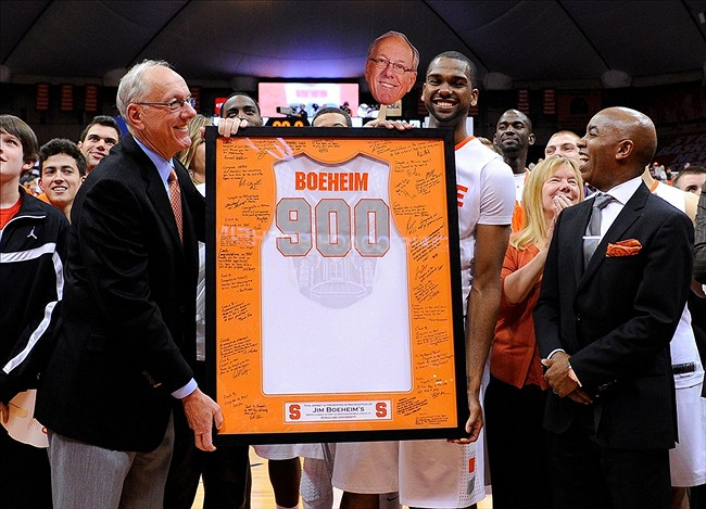 1000 wins for Boeheim worth just as many memories for fans