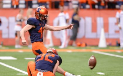Kicker Cole Murphy (48) Mandatory Credit: Mark Konezny-USA TODAY Sports