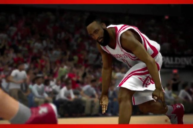 James Harden in NBA 2k14