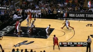 Harden Steps By Defender