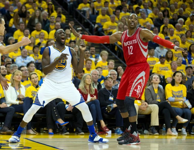 Dwight-howard-draymond-green-nba-playoffs-houston-rockets-golden-state-warriors-768x593
