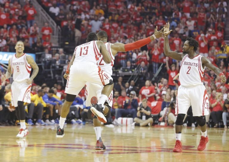 Dwight-howard-james-harden-patrick-beverley-nba-playoffs-golden-state-warriors-houston-rockets-768x542
