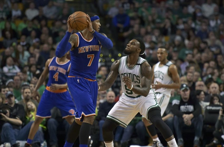 New York Knicks' Carmelo Anthony Has Unconventional Way Of Guarding Stephen Curry