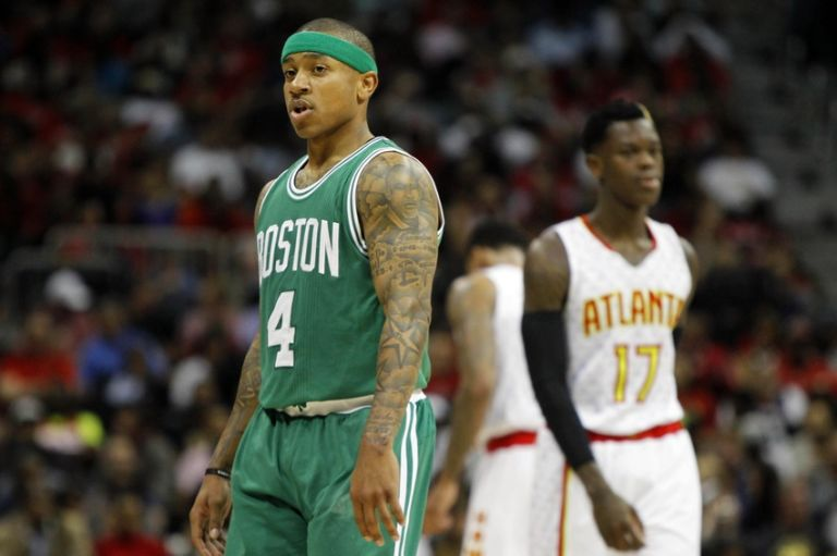 Isaiah-thomas-dennis-schroder-nba-playoffs-boston-celtics-atlanta-hawks-768x511