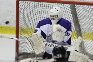 Photo Courtesy of David Dudich: TJ Black picked up his fourth shutout of the season blanking Odessa on 35 saves.
