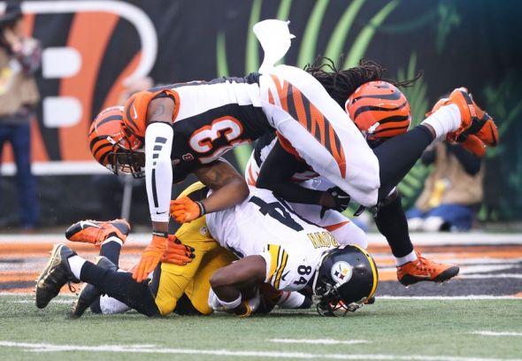 average age nfl player steelers bengals line