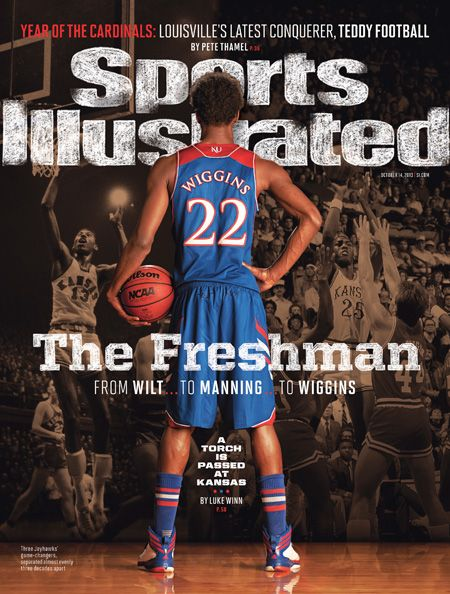 Andrew Wiggins Sports Illustrated Cover