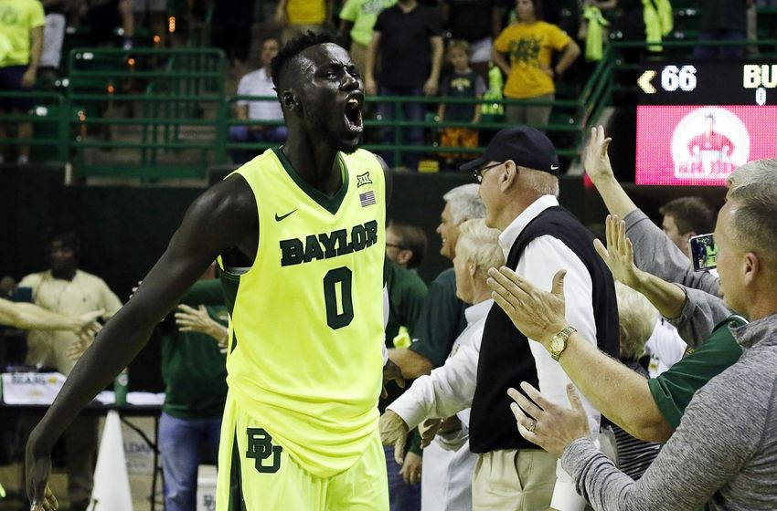 Baylor Basketball: Jo Lual-Acuil Jr. dominates defensively ...