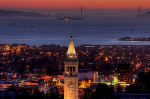 UC-Berkeley-campanile-night