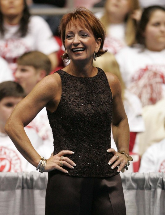 Alabama gymnastics coach Sarah Patterson