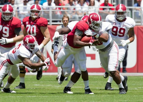 thursday football game alabama football news espn