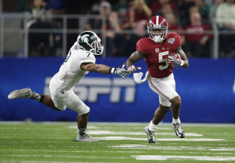 Cyrus Jones Takes His Turn at the NFL Combine