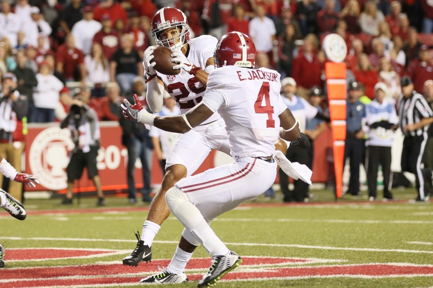 Alabama football fitzpatrick scott hurts honored by sec