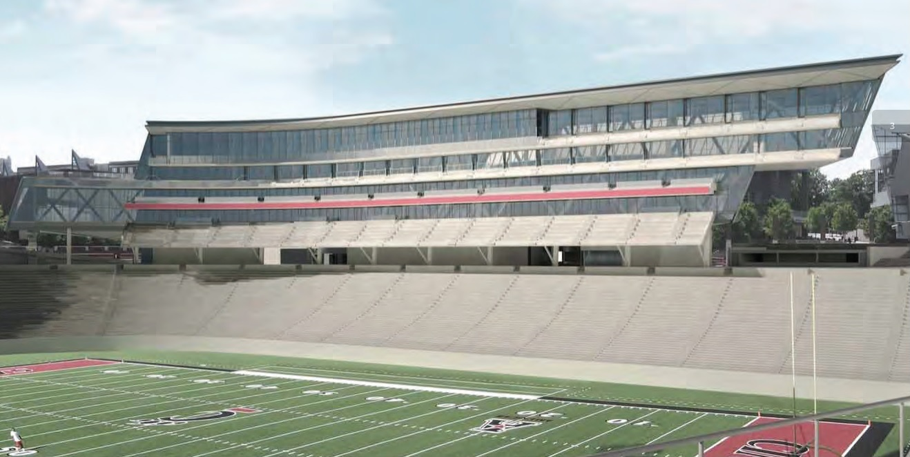 Latest Rendering of Nippert Stadium Renovations (Jan. 14, 2014)