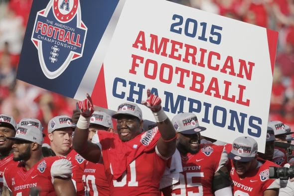 Image result for houston cougars football AAC champions