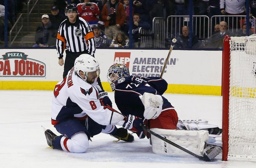 Washington Capitals Clinch Presidents' Trophy in Win Over Blue Jackets