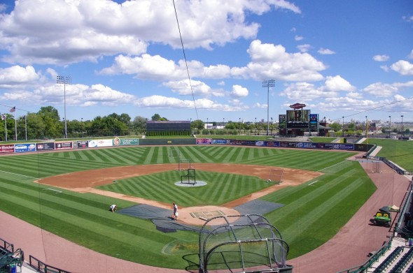 Dow Diamond in Midland, Michigan. Mandatory Credit: Jay Blue