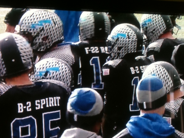 Air Force Wearing Black, Bomber Inspired Uniforms vs. Navy