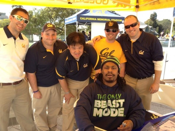 Marshawn Lynch visits Cal